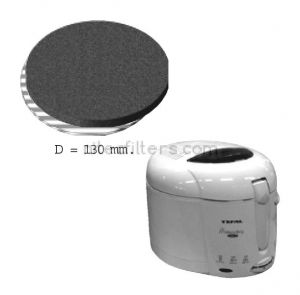 Anti-odour filter for fryer NITEC, code F04