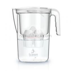 Water filtering pitcher BWT VIDA, White colour - code V701