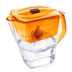 Water filtering pitcher GRAND NEO  orange , code V353