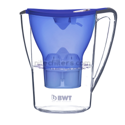 Water filtering pitcher BWT PЕNGUIN, blue colour - code V704