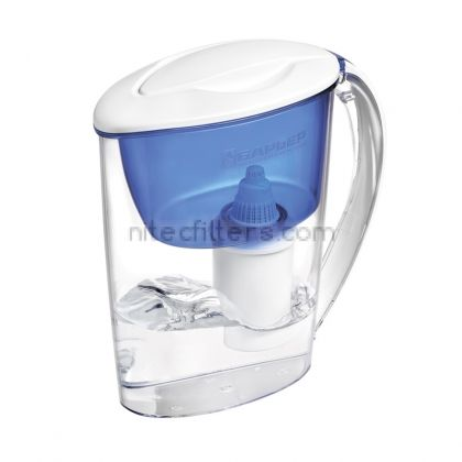 Water filtering pitcher EXTRA  blue colour , code V301
