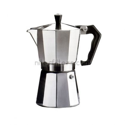 Aluminium coffee maker PEPITA for 3 cups, code K901
