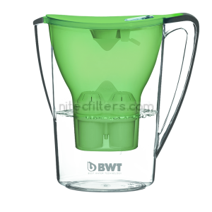Water filtering pitcher BWT PЕNGUIN, green colour - code V703