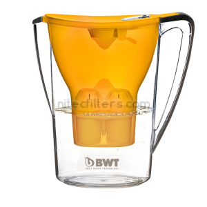 Water filtering pitcher BWT PЕNGUIN, orаnge colour - code V705