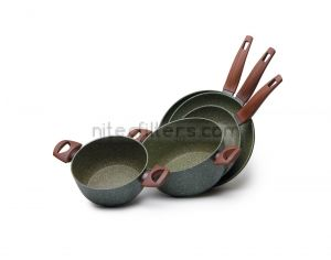 Aluminium frypan NATURA INDUCTION, diameter 24 cm., code D461