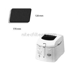 Anti-odour filter for fryer NITEC, code F24