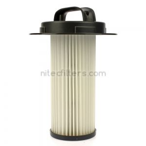 Cylinder HEPA filter for vacuum cleaner PHILIPS, code P45